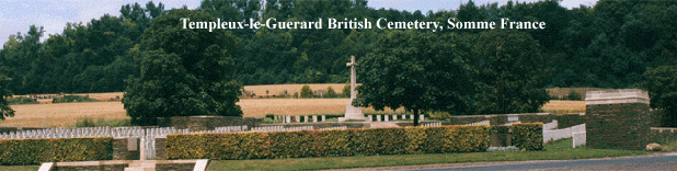 Templeux-le-Guerard British Cemetery, Somme, France